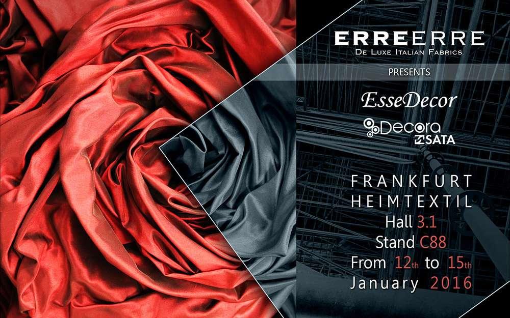 Frankfurt HeimTextil 2016